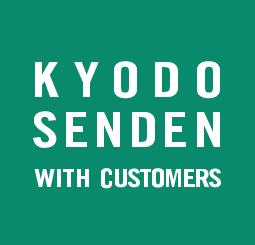 KYODO SENDEN WITH CUSTOMERS